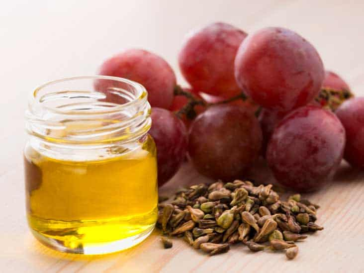 Grape see extract and oil