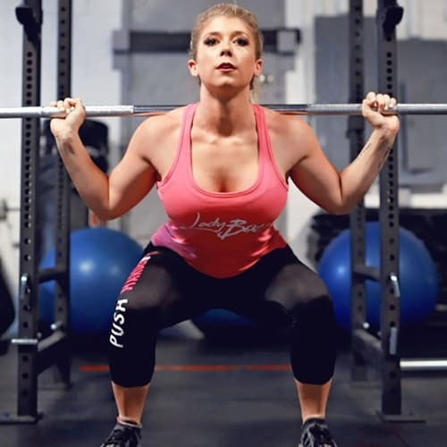 Kaelin Poulin workout