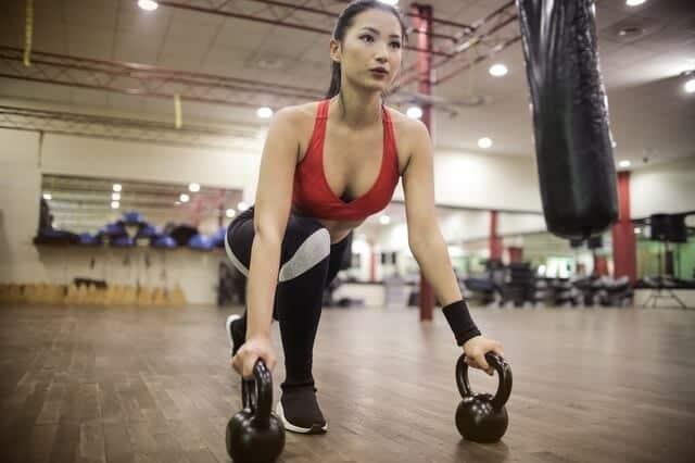 Lady gym fitness