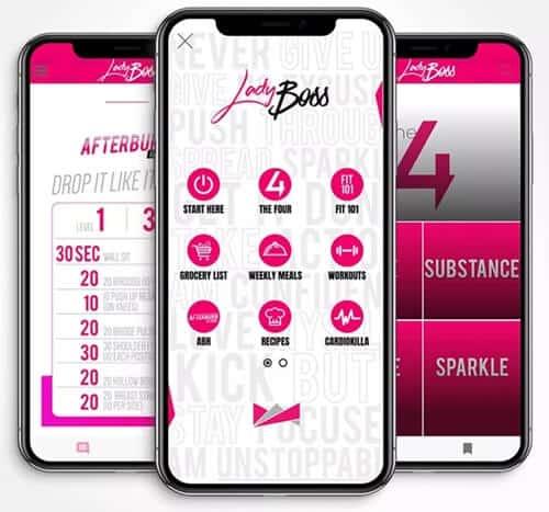 LadyBoss pocket trainer app