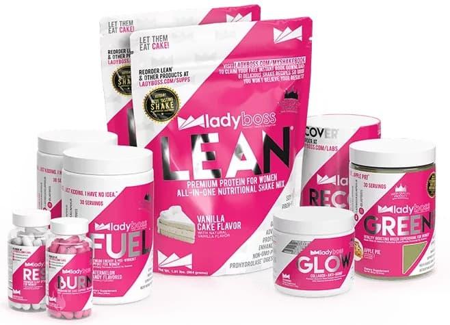 LadyBoss supplement products