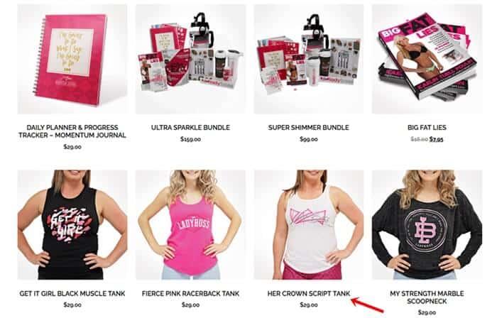 LadyBoss swag shop wears