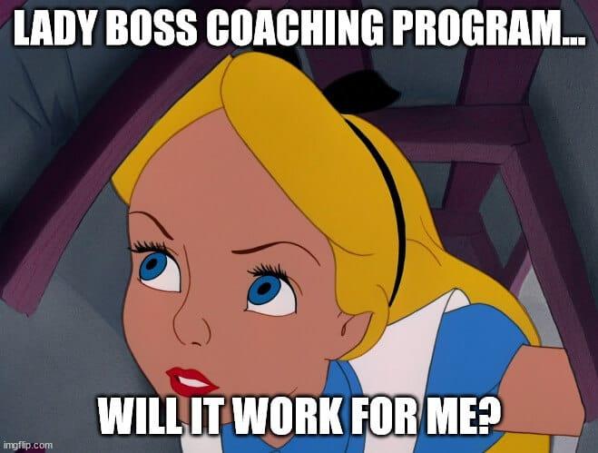 personal coaching meme