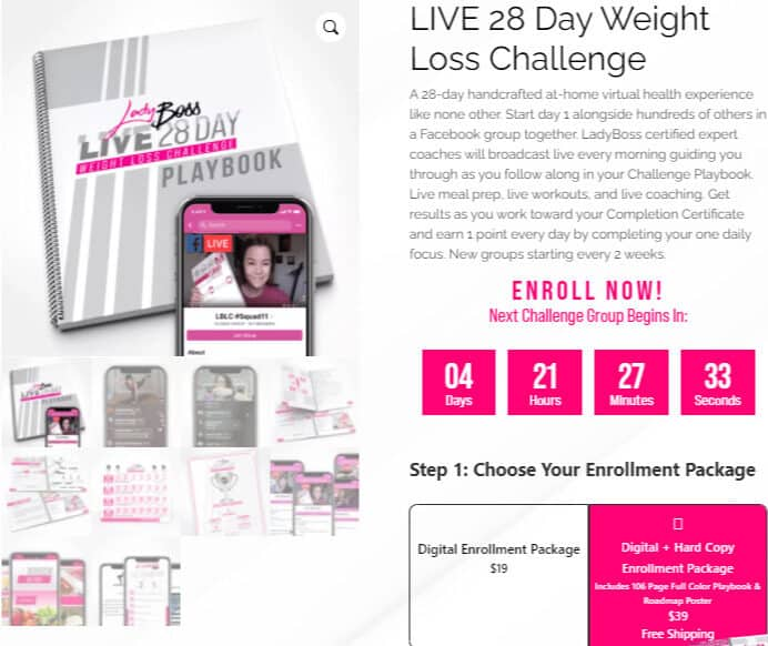 LIVE 28 Day Weight Loss Challenge