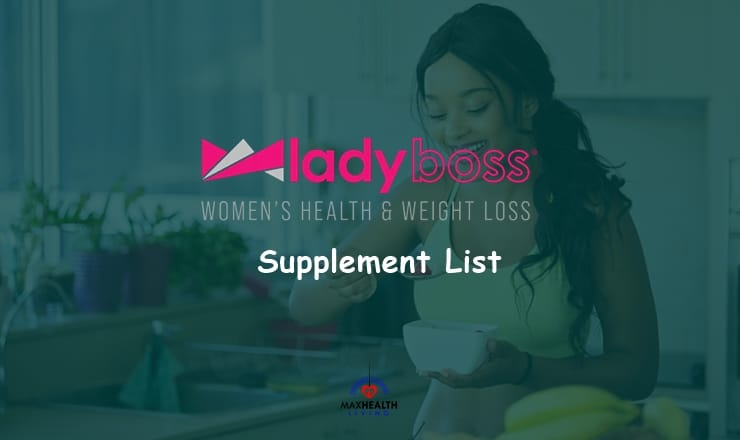 Lady Boss Supplement products