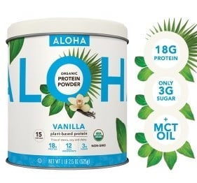 ALOHA powder