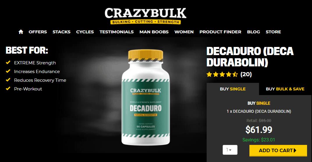 decaduro price